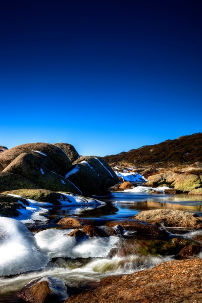 Landscapes in the Australian Alps